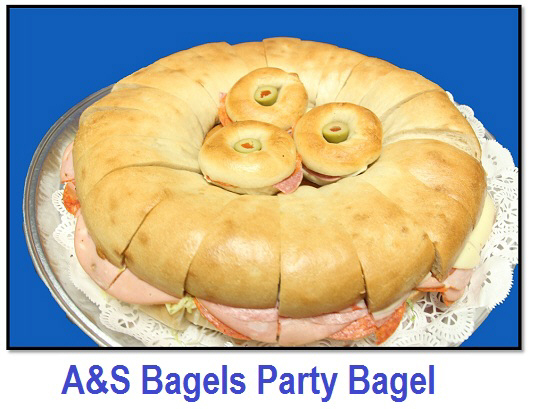 Party Bagels from A & S Bagels, Inc.